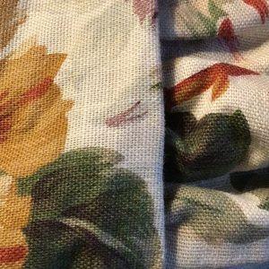 Ralph Lauren Queen Dust Ruffle and Pillow Shams